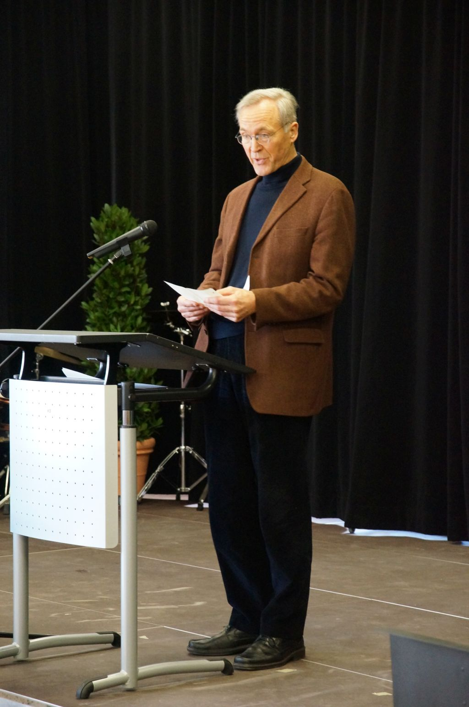 Verabschiedung vom Schulleiter Herrn Wolf (Februar 2014)