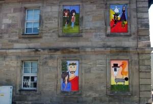 Comicfenster an der Musikschule