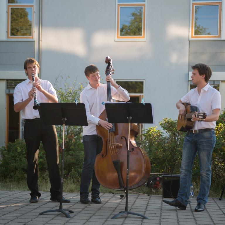 """Auftritt der """"Swinging KlezMen"""" (Juli 2014)"""
