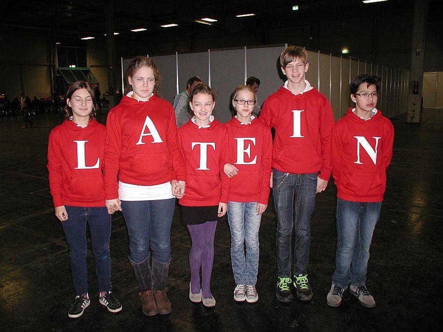 Klasse 7a bei Wetten Dass...? (Dezember 2013)