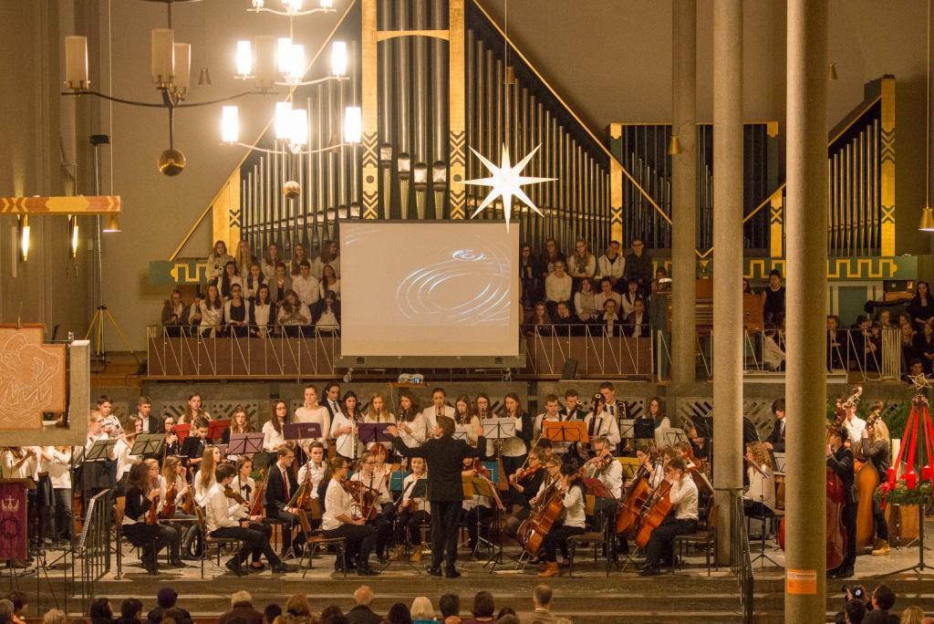 Weihnachtskonzert (Ensembles der 9. – 12. Klassen – Dezember 2014)
