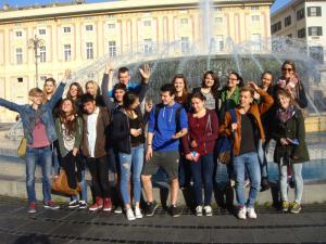 Schüleraustausch Italien - Genua 2015