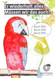 Plakat zum Plakatwettbewerb der Oro-Verdestiftung
