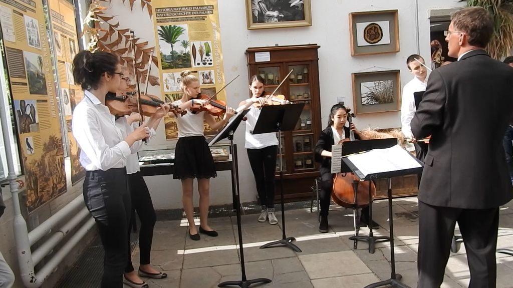 "Erster Auftritt des ""Martius-Ensembles"""