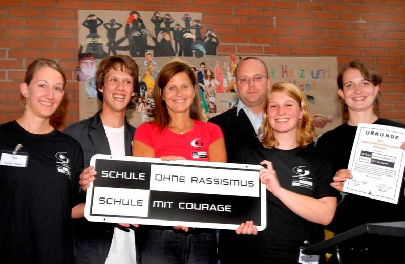 "Aktionstag ""Schule ohne Rassismus – Schule mit Courage"" (06.06.2011)"