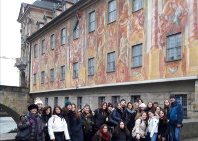 Ausflug der römischen Gäste nach Bamberg