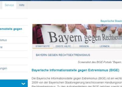 Homepage BIGE