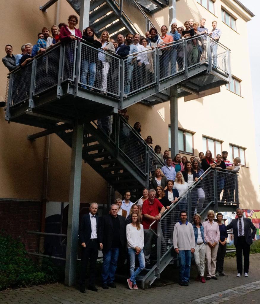 Kollegium am CEG im Schuljahr 2017/18