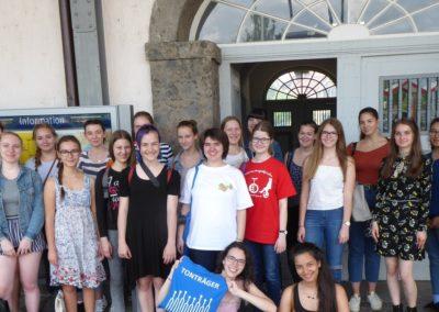 Teilnahme der CEG-Mädchenchöre beim Deutschen Chorwettbewerb 2018
