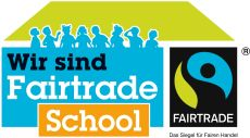 Banner CEG als Fairtrade-School