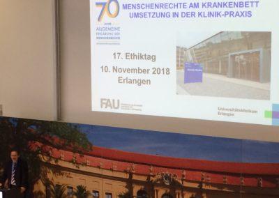 W-Seminar Ethik 2018 FAU 17. Ethiktag