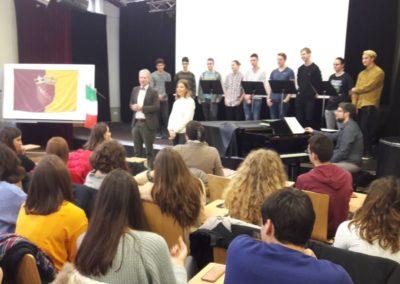 Italienische Schülerinnen und Schüler zu Gast in Erlangen