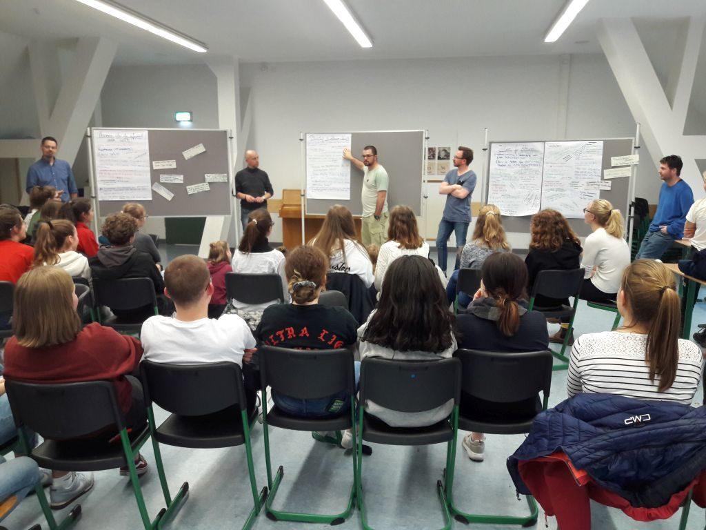 Treffen engagierter Schüler/innen
