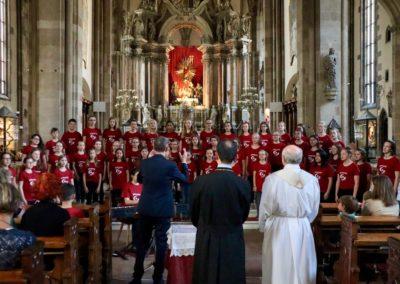Jugendchor in Bozen - Eröffnung der Langen Nacht der Kirchen mit dem Dekan des Doms