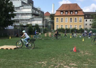 Projekttag zum Thema Sicherheit auf dem Fahrrad der 5. Klassen 2019