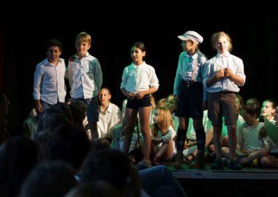Kinder des Monsieur Mathieu (Musik- und Theaterprojekt der Klassen 5ad - Juli 2018)