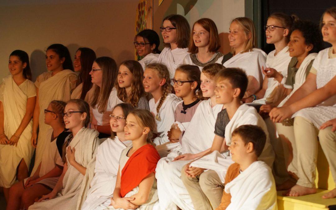 Die Abenteuer des Odysseus (Musical des Chores der 6. Klassen – Juli 2018)
