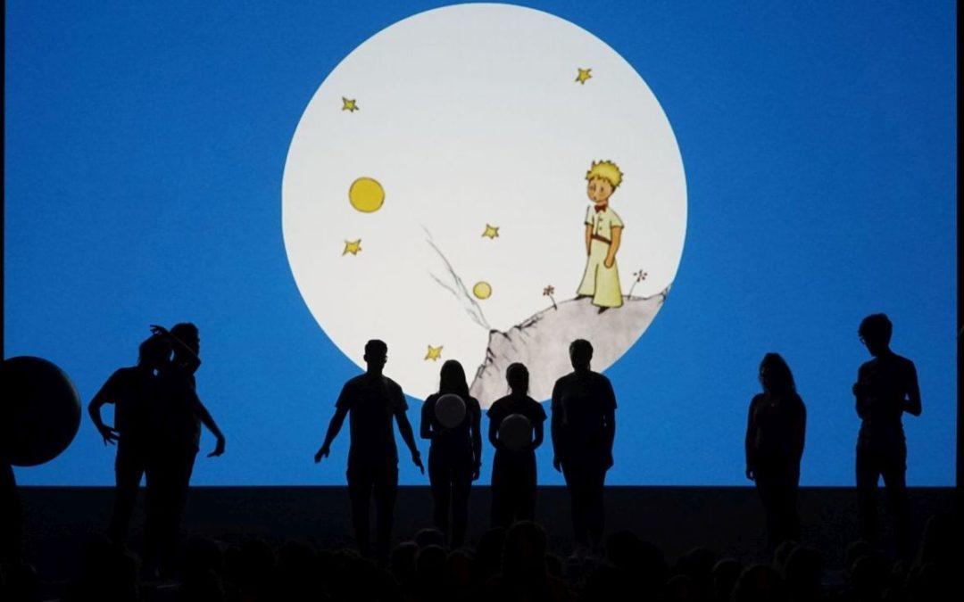 Der kleine Prinz (Singspiel des Chores der 7./8. Klassen und der Theatergruppe der 9. – 11. Klassen – Juli 2018)