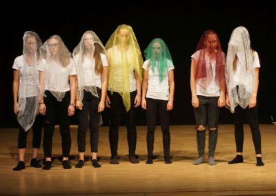 Die Schöne und das Biest (Aufführung der Theatergruppe der 7./8. Klassen - Juli 2018)
