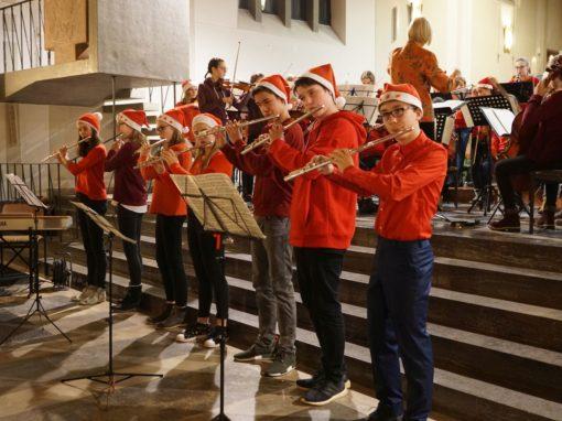 Adventskonzert (Ensembles der 5. – 8. Klassen – Dezember 2018)