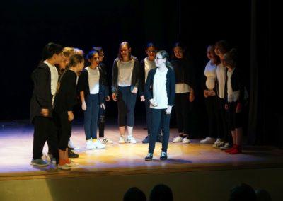 An der Arche um Acht - Aufführung der Theatergruppe der 6. Klassen (Juli 2019)