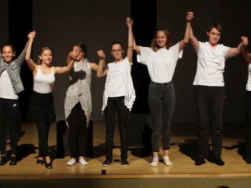 Die Tantaliden, Iphigenie und ich (Aufführung der Theatergruppe der 7./8. Klassen – Juli 2019)