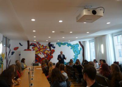 Diskussion mit Joachim Herrmann