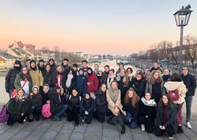 Gäste aus Rom und Siena zu Besuch am CEG