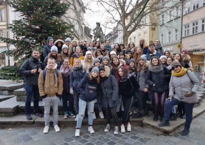 Gemeinsamer Ausflug mit den Gästen aus Siena
