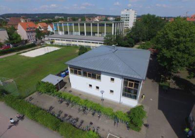 CEG - Neubau und Sportplatz