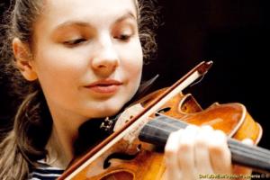 Tolle Leistung an der Violine