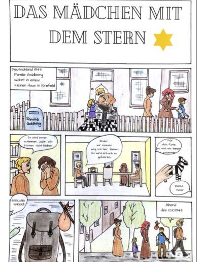 Dritter Platz für CEG-Schülerinnen beim deutsch-französischen Comic-Wettbewerb
