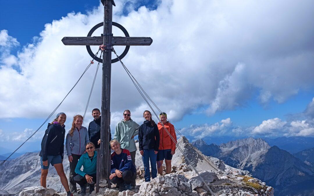 Q12er schnüffeln Bergluft
