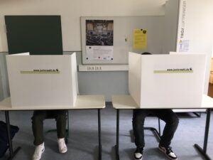 Juniorwahl zur Bundestagswahl 2021 am CEG