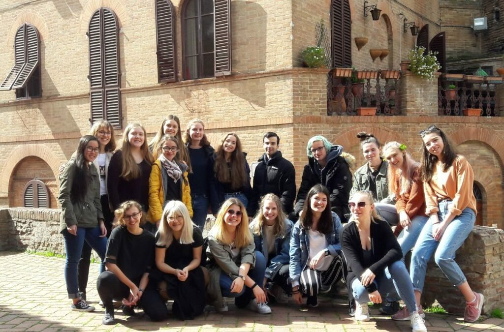 """Schüleraustausch des Italienischkurses der Q11 mit dem Liceo """"Monna Agnese"""" in Siena"""