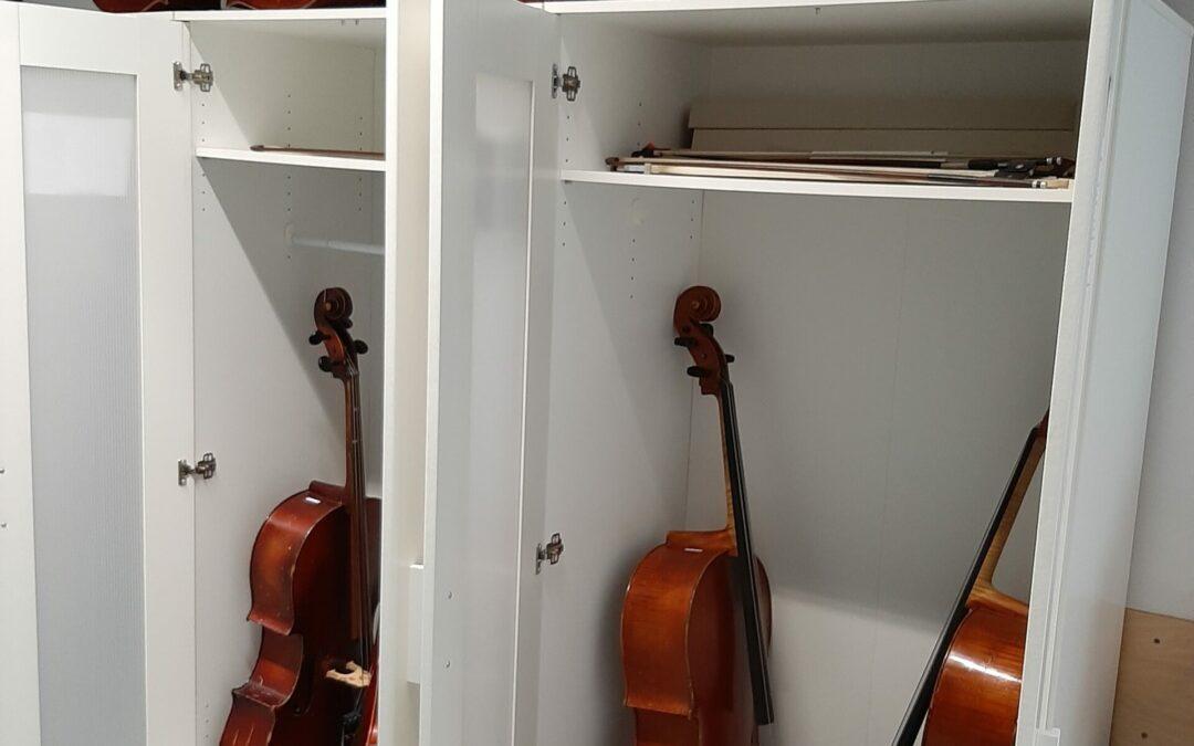Großzügige Spende für unsere Cello-Familie