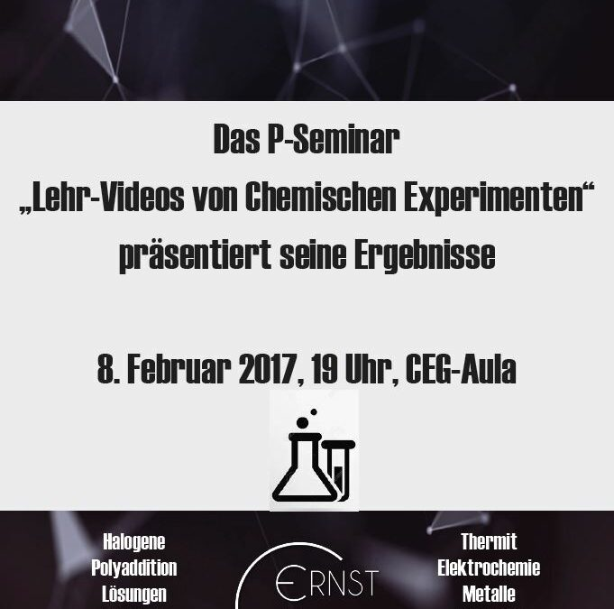 """P-Seminar """"Lehr-Videos von Chemischen Experimenten"""" präsentiert seine Ergebnisse"""